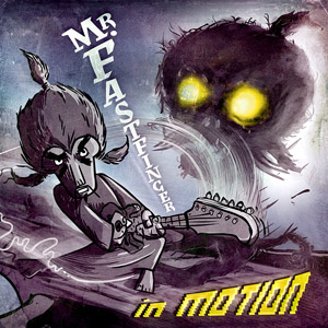 Mr Fastfinger - in motion - cover 300px