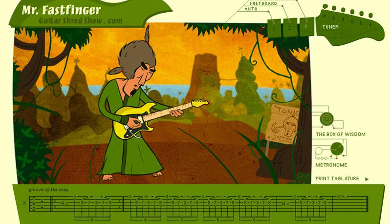 Guitar Shred Show - Mr. Fastfinger