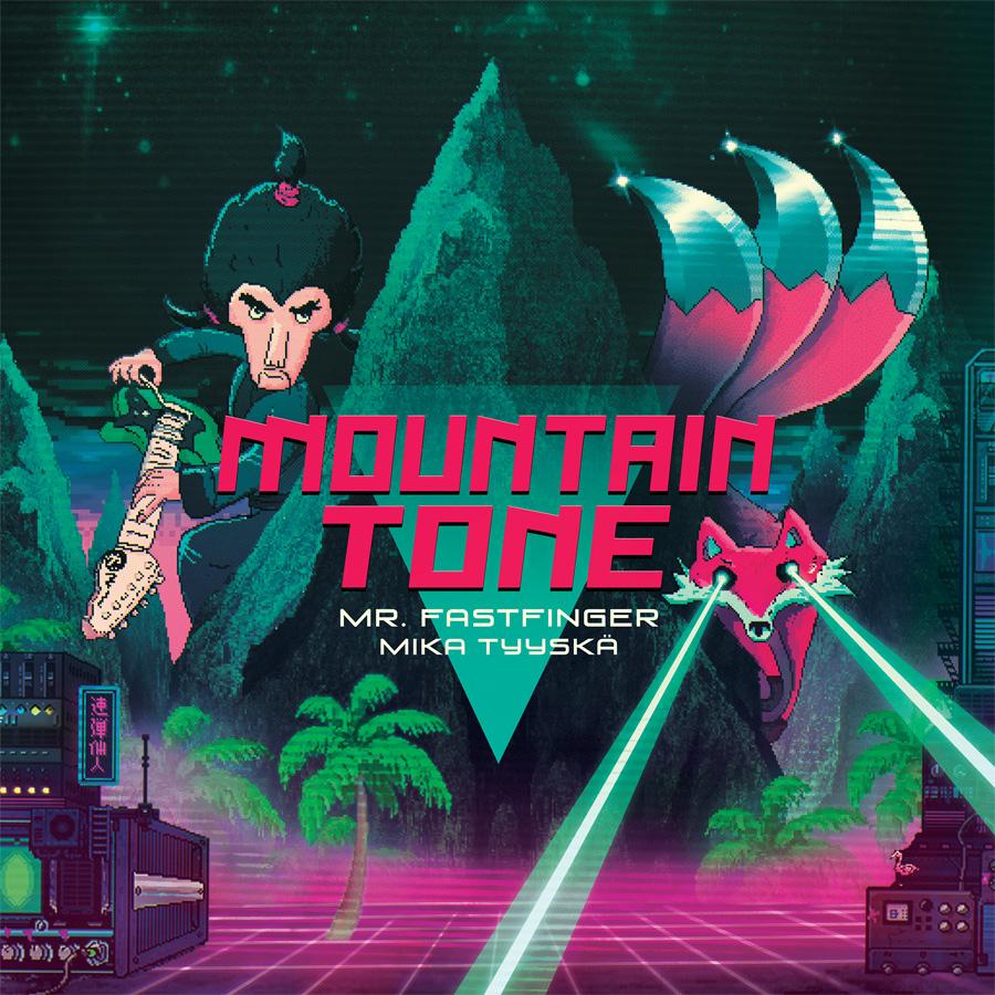MountainTone Mika Tyyska Mr Fastfinger album cover_900px