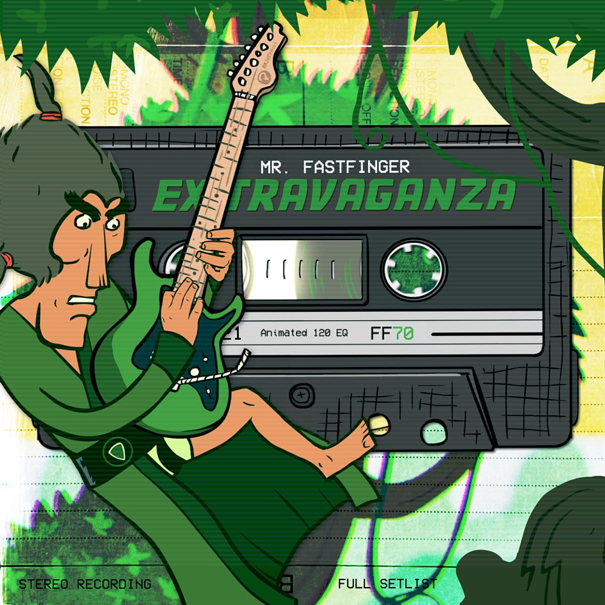 Mr. Fastfinger - Extravaganza cover